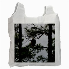 Bald Eagle 3 Recycle Bag (Two Side)  by timelessartoncanvas