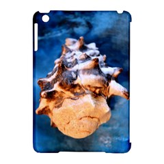 Sea Shell Spiral Apple iPad Mini Hardshell Case (Compatible with Smart Cover) by timelessartoncanvas