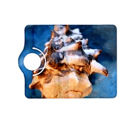 Sea Shell Spiral Kindle Fire Hd (2013) Flip 360 Case by timelessartoncanvas