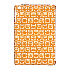 Yellow And White Owl Pattern Apple Ipad Mini Hardshell Case (compatible With Smart Cover) by creativemom