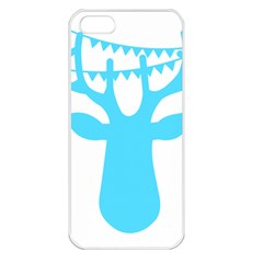 Party Deer With Bunting Apple Iphone 5 Seamless Case (white) by CraftyLittleNodes