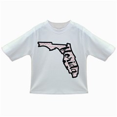 Florida Map Pride Chevron Infant/toddler T Shirts by CraftyLittleNodes