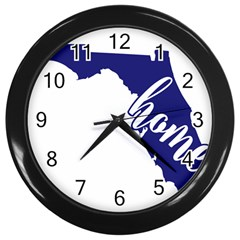 Florida Home  Wall Clocks (black) by CraftyLittleNodes