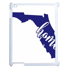 Florida Home  Apple Ipad 2 Case (white) by CraftyLittleNodes