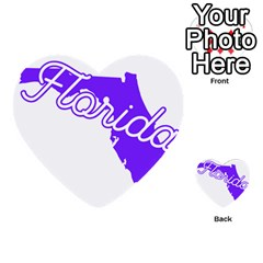 Florida Home State Pride Multi Purpose Cards (heart)  by CraftyLittleNodes