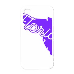 Florida Home State Pride Apple Iphone 4 Case (white) by CraftyLittleNodes