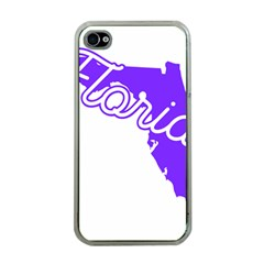 Florida Home State Pride Apple Iphone 4 Case (clear) by CraftyLittleNodes
