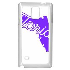 FLorida Home State Pride Samsung Galaxy Note 4 Case (White) by CraftyLittleNodes