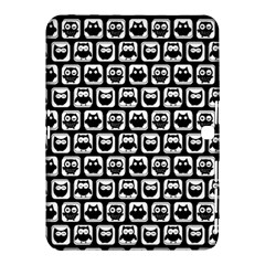 Black And White Owl Pattern Samsung Galaxy Tab 4 (10 1 ) Hardshell Case  by creativemom
