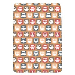 Colorful Whimsical Owl Pattern Flap Covers (L)  by creativemom