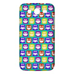 Colorful Whimsical Owl Pattern Samsung Galaxy Mega 5 8 I9152 Hardshell Case  by creativemom