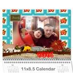 ann2 - Wall Calendar 11  x 8.5  (12-Months)