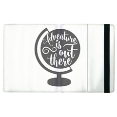 Adventure Is Out There Apple iPad 3/4 Flip Case by CraftyLittleNodes