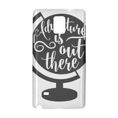 Adventure Is Out There Samsung Galaxy Note 4 Hardshell Case