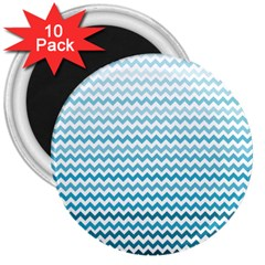 Perfectchevron 3  Magnets (10 Pack)  by CraftyLittleNodes