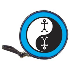 Yin And Yang Icon  Classic 20-CD Wallets
