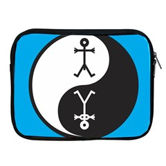Yin And Yang Icon  Apple Ipad 2/3/4 Zipper Cases by thisisnotme