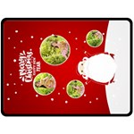 xmas - Fleece Blanket (Large)