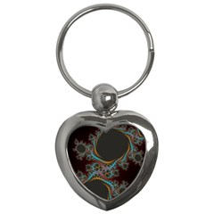 Dream In Fract Key Chains (heart)  by theunrulyartist