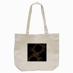 Dream In Fract Tote Bag (cream)  by theunrulyartist