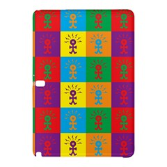 Multi Coloured Lots Of Angry Babies Icon Samsung Galaxy Tab Pro 12.2 Hardshell Case