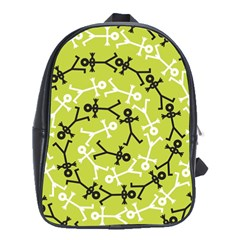 Spiral Icon School Bags (XL)  by thisisnotme