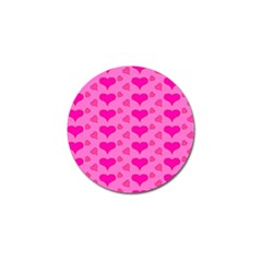 Hearts Pink Golf Ball Marker (4 Pack) by MoreColorsinLife