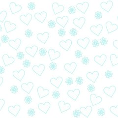 Flowers And Hearts Magic Photo Cubes by MoreColorsinLife