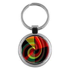 Spiral Key Chain (round) by LalyLauraFLM