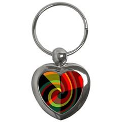 Spiral Key Chain (heart) by LalyLauraFLM