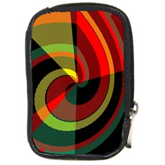 Spiral Compact Camera Leather Case by LalyLauraFLM