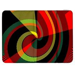 Spiral Samsung Galaxy Tab 7  P1000 Flip Case by LalyLauraFLM