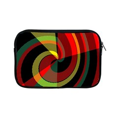 Spiral Apple Ipad Mini Zipper Case by LalyLauraFLM