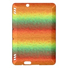 Gradient Chaos Kindle Fire Hdx Hardshell Case by LalyLauraFLM