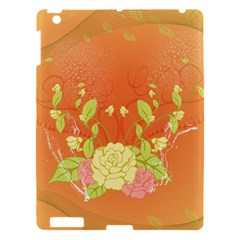 Beautiful Flowers In Soft Colors Apple iPad 3/4 Hardshell Case by FantasyWorld7