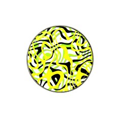 Ribbon Chaos Yellow Hat Clip Ball Marker (10 Pack) by ImpressiveMoments