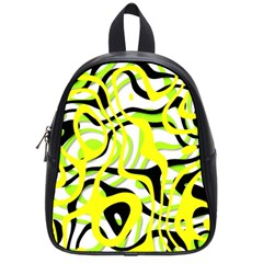Ribbon Chaos Yellow School Bags (small)  by ImpressiveMoments