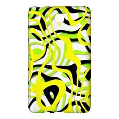 Ribbon Chaos Yellow Samsung Galaxy Tab 4 (8 ) Hardshell Case  by ImpressiveMoments