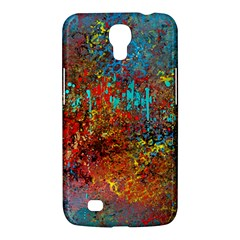 Abstract In Red, Turquoise, And Yellow Samsung Galaxy Mega 6 3  I9200 Hardshell Case by theunrulyartist