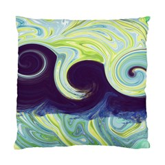 Abstract Ocean Waves Standard Cushion Case (one Side)  by theunrulyartist