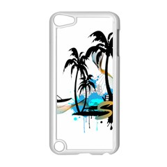 Surfing Apple iPod Touch 5 Case (White) by EnjoymentArt