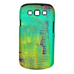 Abstract In Turquoise, Gold, And Copper Samsung Galaxy S Iii Classic Hardshell Case (pc+silicone) by theunrulyartist