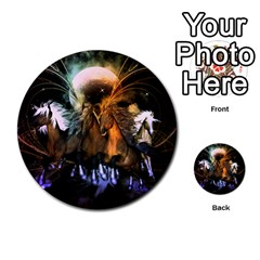 Wonderful Horses In The Universe Multi Purpose Cards (round)  by FantasyWorld7