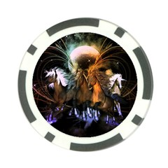 Wonderful Horses In The Universe Poker Chip Card Guards (10 Pack)  by FantasyWorld7