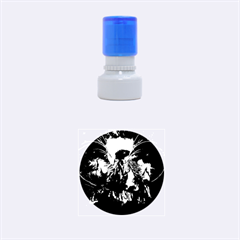 Wonderful Horses In The Universe Rubber Round Stamps (small)