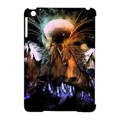 Wonderful Horses In The Universe Apple Ipad Mini Hardshell Case (compatible With Smart Cover) by FantasyWorld7