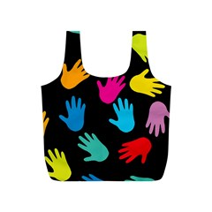 All Over Hands Full Print Recycle Bags (S)  by ImpressiveMoments