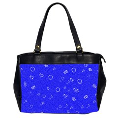 Sweetie Blue Office Handbags (2 Sides)  by MoreColorsinLife