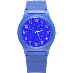 Sweetie Blue Round Plastic Sport Watch (s) by MoreColorsinLife