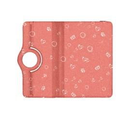 Sweetie Peach Kindle Fire HDX 8.9  Flip 360 Case by MoreColorsinLife